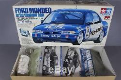 Rare Nouvelle Boîte Ouverte 1/10 Tamiya R / C 58143 Ford Mondeo Btcc Voiture De Tourisme Châssis Ff