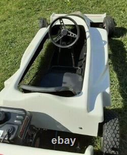 Raybestos Manco Indy Voiture Go Cart Corps En Fibre De Verre Avec Cadre Nouveau Predator 212 Moteur