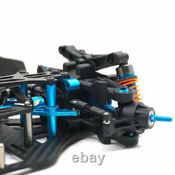Rc 1/10 4wd Plastic & Carbon Touring Car Frame Kit Pour Tt01 Tt01e Shaft Drive