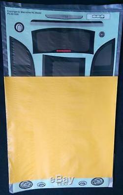 Rc 1 10 Effacer Voiture Fiat 500 Body Convient Shell Tamiya M Châssis 225mm Empattement