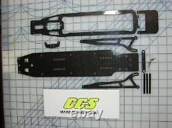 Rc Drag Car Chassis Conversion Kit Pour Traxxas Slash 2wd Par Ccs Wheelie Bars