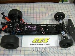 Rc Drag Car Châssis Kit De Conversion Pour Dr10 Associé Par Ccs Pointe Avant Standard