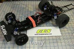 Rc Drag Car Châssis Kit De Conversion Pour Traxxas Slash 2.0 2wd Par Les Barres De Roue Ccs
