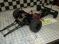 Rc Drag Voiture Châssis Kit De Conversion Pour Traxxas Slash 2rm Par Ccs Wheelie Barres
