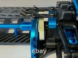 Rc Modèle Voiture Tamiya Tt01 Aluminium Fibre De Carbone Châssis Touring Car Télécommande