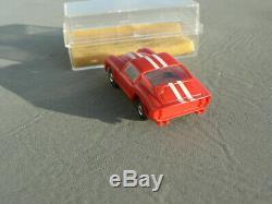 Red Flamethrower Ferrari Ho Slot Car 1493 W Chassis Aurora Afx T-jet Thunderjet