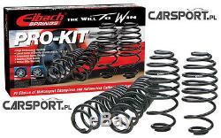 Ressorts De Descente Eibach Pro Kit Pour Ford Mondeo Mk3 St220, Tdci, 00-07