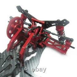 Rouge 1/10 Alliage Carbone Sakura D4 Rwd Drift Voiture Châssis Châssis Kit Du Corps #kit-d4rwd