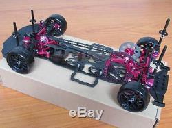Sakura D4 1/10 Alliage Et Carbone 100% Cadre Op / Kit Carrosserie Awd 4wd Drift Racing Car