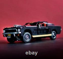 Shelby Ford Mustang Hertz Gt Personnalisé Pour Lego Technic 10265 T Maxx Hpi Noir