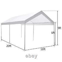 Steel Frame Party Tente Canopy Shelter Port Carport Garage Cover