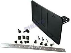 Support De Plaque D'immatriculation De Voiture Cadre Retractable Curtain Shutter Blinds USA Standard