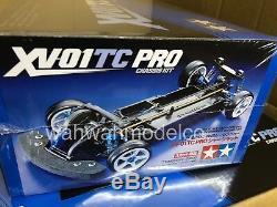 Tamiya 110 Châssis Xv-01tc Pro Hautes Performances Rc Sur Voitures De Tourisme Sur Route # 58558