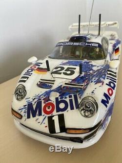 Tamiya 1/10 Électrique Rc Voiture Porsche 911 Gt1 Ta03r-s Châssis 58193 Rare Ceinture 4 Roues Motrices