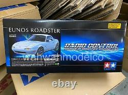 Tamiya 1/10 M06 Mx-5 Eunos Roadster M-chassis Ep Rc Cars Kit Avec Esc Motor #47431