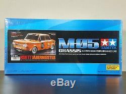 Tamiya 1/10 M-05 Nsu Tt Kit Jagermeister Rc Cars Ep Avecesc M-châssis # 58649
