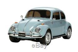 Tamiya 1/10 Rc Car Kit Vw Volkswagen Beetle M-châssis M06 Rwd 58572 F / S