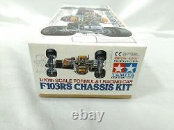 Tamiya 1/10 Rc F103rs Kit De Chassis De Chassis Fomula 1 Racing De Racing Modèle 58156 Japon 1