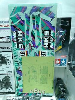 Tamiya 1/10 Rc Hks Clk 4 Roues Motrices Voiture De Course Ta04-r Modèle Châssis Kit 58291 Du Japon