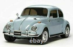 Tamiya 1/10 Rc Série De Voitures N ° 572 Beetle Volkswagen M-06 Châssis Japon Intérieur