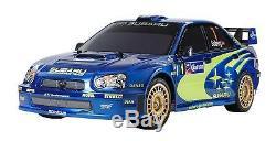 Tamiya 1/10 Rc Série Subaru Impreza 2004 Mexique Tt-01 Châssis-type E 47372