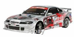 Tamiya 1/10 Rc Voiture N ° 612 Nismo Coppermix Silvia Tt-02d Chassis Drift Spec 58612