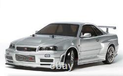 Tamiya 1/10 Rc Voiture Nismo R34 Gt-r Z-tune Tt-02d Châssis Drift Spec 58605