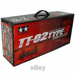 Tamiya 1/10 Tt02s Tt02 Type-s 4 Roues Motrices, Kit Voiture Rc Voitures De Tourisme Sur Route # 58600