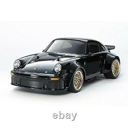 Tamiya 1/10 Voiture Rc Électrique N° 62 Porsche Turbo Rsr 934 Châssis Ta02sw Noir