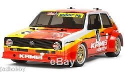 Tamiya 47308 1/12 Ep Rc Kit De Châssis De Voiture M05 Vw Golf Mk1 Gti Gr. 2 Rallye Avec Ces