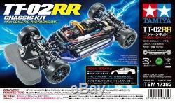 Tamiya 47382 Kit De Châssis Type Tt-02rr Pour Voiture Tt-02rr À Échelle 1/10 Rc
