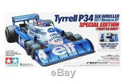 Tamiya 47392 1/10 Rc F1 Voiture F103 Châssis Tyrrell P34 Six Wheeler 1977 Kit