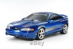 Tamiya 47430 1/10 Rc Touring Car Tt01e Châssis Ford Mustang Svt Cobra R Withesc