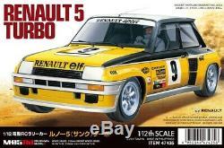 Tamiya 47435 1/12 Échelle Rc Voiture M-05ra Châssis Kit Renault 5 Turbo Rallye Withesc