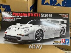 Tamiya 47443 1/10 Ep Rc Car Kit Ta03r-s Châssis Porsche 911 Gt1 1996 Rue
