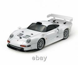 Tamiya 47443 1/10 Ep Rc Car Kit Ta03r-s Châssis Porsche 911 Gt1 Street 1996