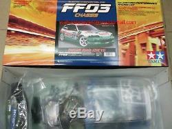 Tamiya # 58467 1/10 Rc Fwd Voiture Ff03 Chassis Team Castrol Honda CIVIC Vti Eg6