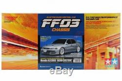 Tamiya 58540 1/10 Rc Fwd Voiture Kit Ff03 Châssis Honda Accord CD Aero Sur Mesure