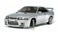 Tamiya 58604 1/10 Ep Rc Voiture Tt02-d Drift Châssis Nissan Skyline Gt-r R33 Avec Esc