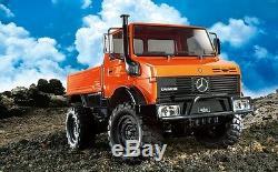 Tamiya 58609 1/10 Rc Voiture Cc01 Châssis Camion Unimog 425 Mercedes-benz Avecled + Esc
