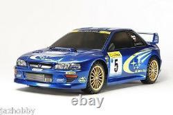Tamiya 58631 1/10 Ep Rc Car Tt02 Chassis Subaru Impreza Sti Wrc 99 Gc8 Avec Esc