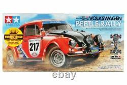 Tamiya 58650 1/10 Ep Rc Car Mf-01x M-chassis Vw Volkswagen Beetle Rallye Avec Esc