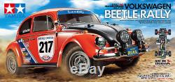 Tamiya 58650 1/10 Ep Rc Voiture Mf-01x M-châssis Vw Volkswagen Coccinelle Rally Avec Ces