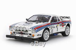Tamiya 58654 Échelle 1/10 Ep Rc Car Kit Ta02-s Châssis Lancia 037 Rallye Withesc
