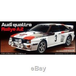 Tamiya 58667 Rc Audi Quattro A2 Rallye Kit Voiture Tt-02 Châssis