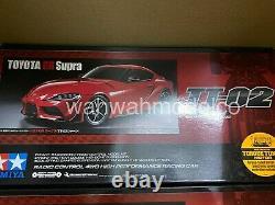 Tamiya 58674 1/10 Échelle Ep Rc Car Tt02 Châssis Toyota Supra Gr J29 Kit Withesc