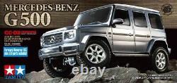 Tamiya 58675 1/10 Rc 4wd Voiture Cc02 Châssis Mercedes Benz G-500 Kit Avec Esc+led