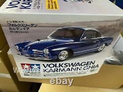 Tamiya 58677 1/10 Rc Car Kit M-06 L Châssis Volkswagen Vw Karmann Ghia Withesc