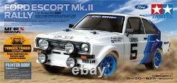 Tamiya 58687 1/10 Ep Rc Car Mf-01x Chassis Ford Escort Mk. II Kit Rally Avec Esc