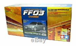 Tamiya Ep Rc Car 1/10 Honda Aero Custom Ff03 Accord Châssis Fwd Voiture De Course 58540